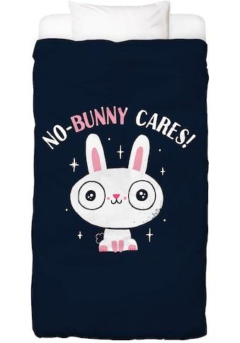 Juniqe Bettwäsche »No-Bunny Cares«, In vielen weiteren Designs erhältlich kaufen