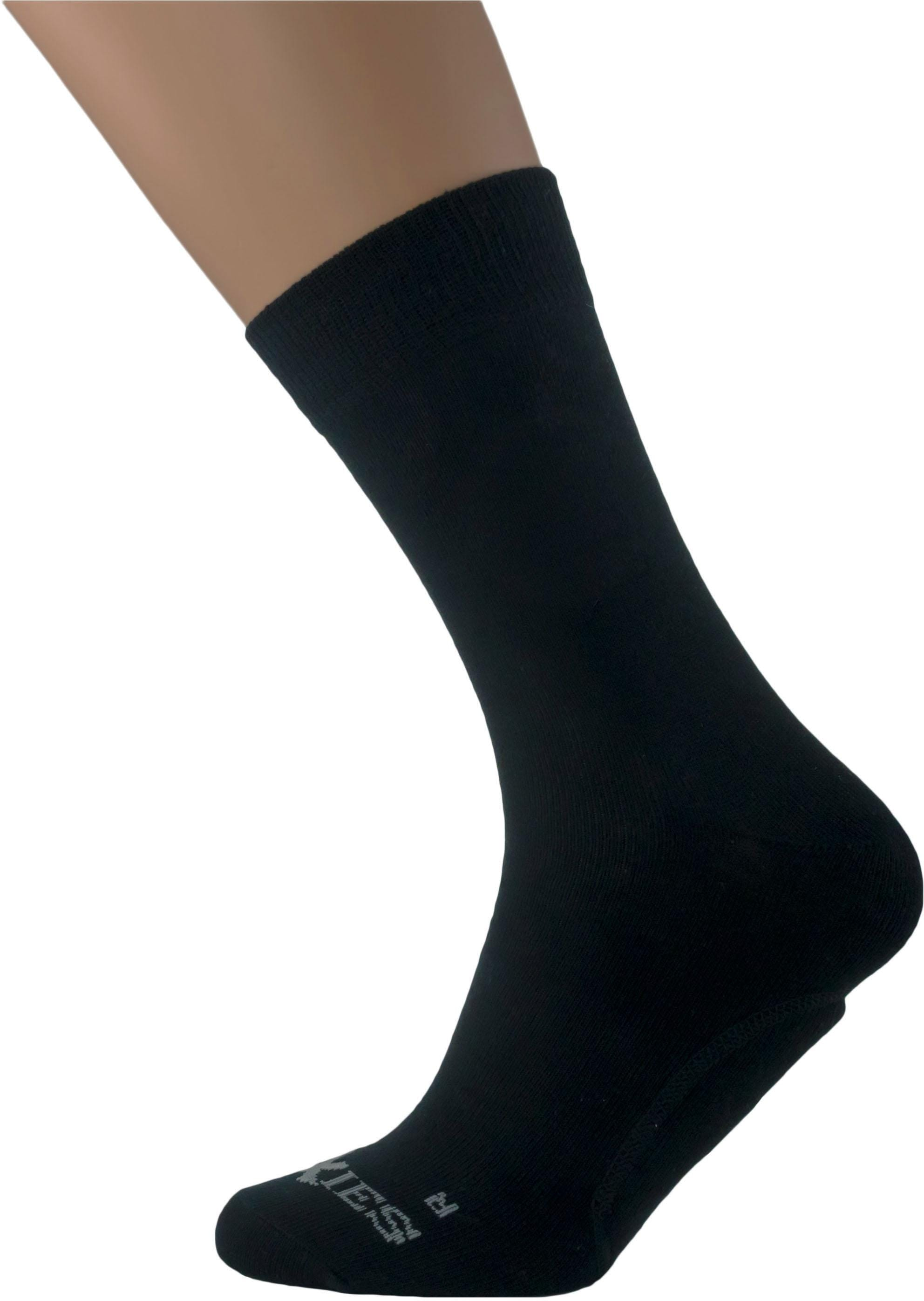 SoXies Socke mit integrierter Gelpadeinlage   Bekleidung > Wäsche > Socken   Schwarz   QUELLE
