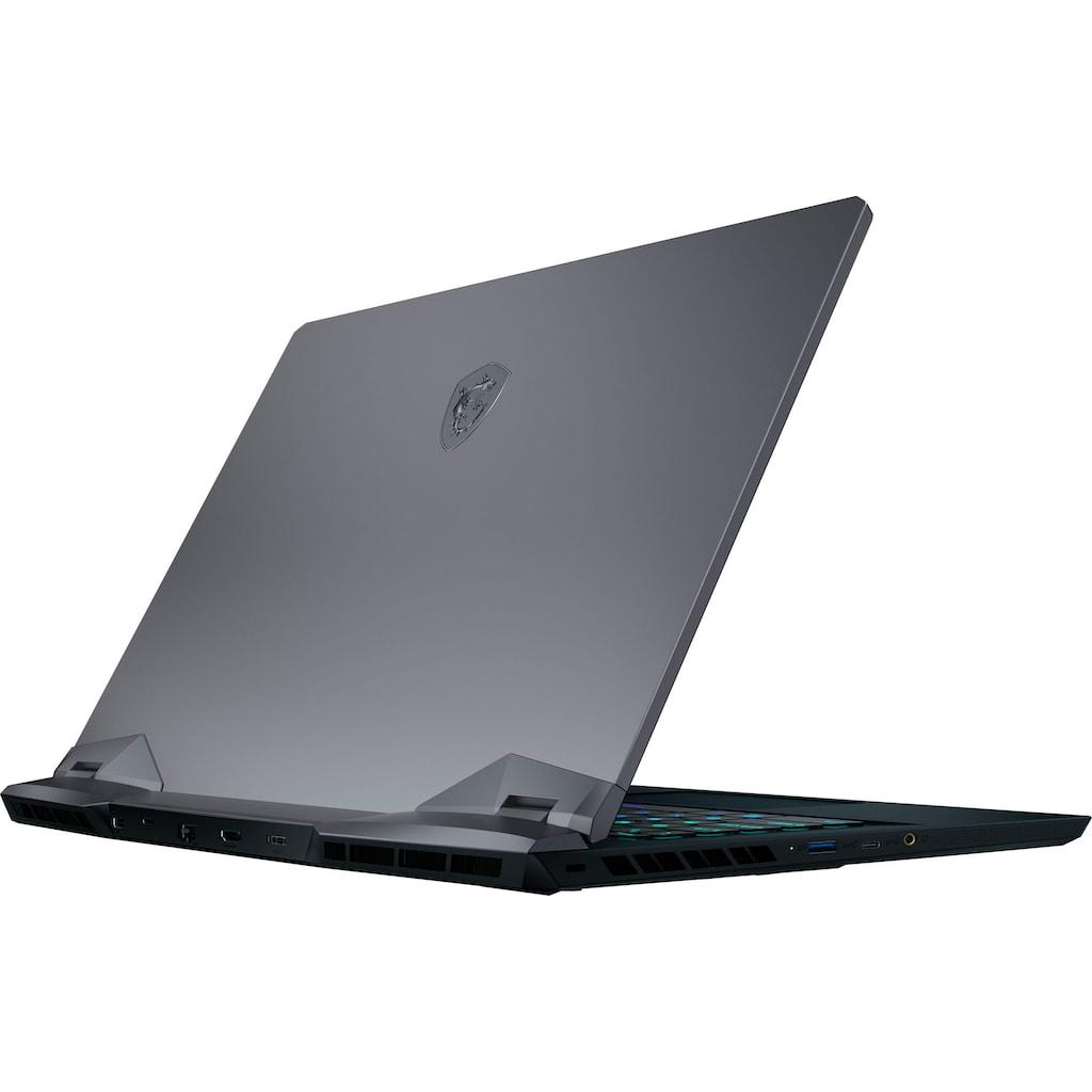 "MSI Gaming-Notebook »GE66 Raider 11UH-076«, (39,6 cm/15,6 "" Intel Core i7 GeForce RTX™ 3080\r\n 2000 GB SSD), Kostenloses Upgrade auf Windows 11, sobald verfügbar"