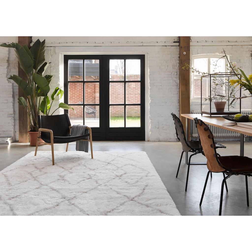 Wecon home Hochflor-Teppich »Afella«, rechteckig, 50 mm Höhe