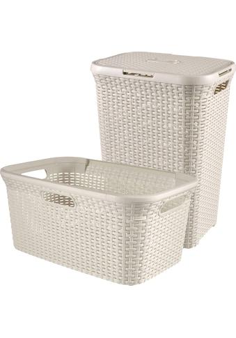 Curver Wäschekorb »Style« (Set, 2 Stück) kaufen