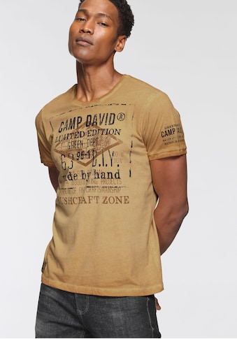 CAMP DAVID T-Shirt, modisch bedruckt kaufen