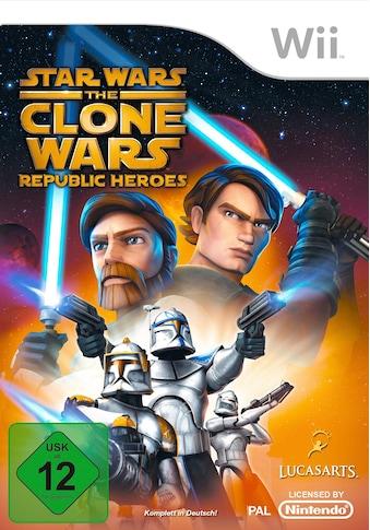 Star Wars: The Clone Wars  -  Republic Heroes Nintendo Wii kaufen