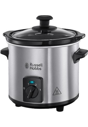 RUSSELL HOBBS Dampfgarer »Compact Home Mini 25570-56«, 93 W, 2 l Fassungsvermögen kaufen