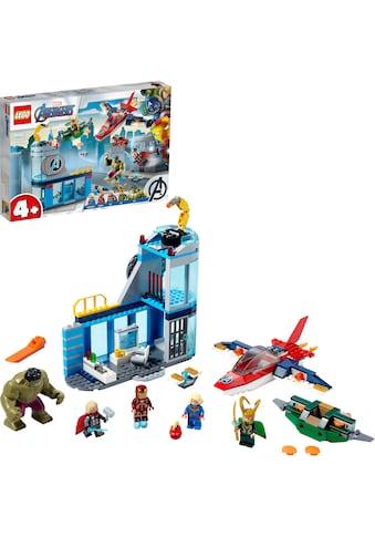 LEGO® Konstruktionsspielsteine »Avengers – Lokis Rache (76152), LEGO® Marvel Super... kaufen