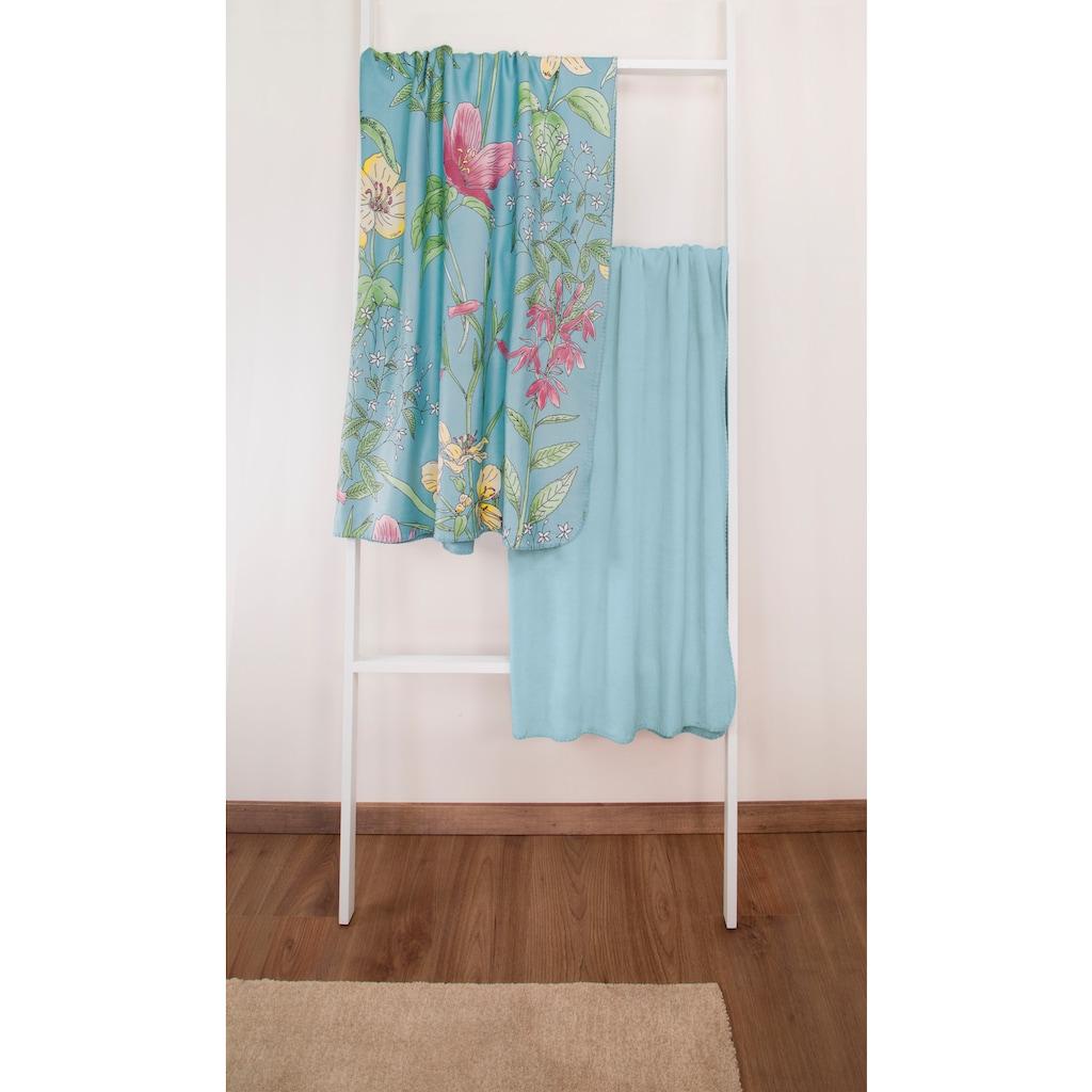 Irisette Wohndecke »Roma 8924«, mit Blumenmotiven