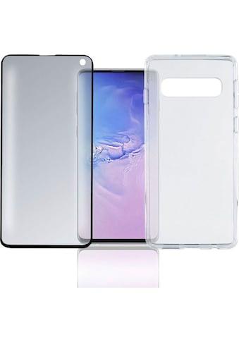 "4smarts Smartphone-Hülle »360° Premium Protection Set \""CF\"" Galaxy S10«, Samsung... kaufen"