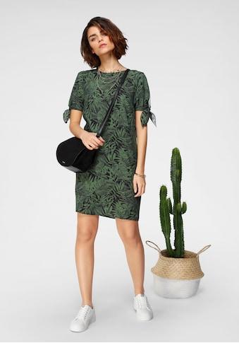 Tamaris Blusenkleid, mit Knoten-Detail an den Ärmeln kaufen