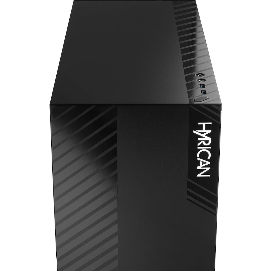 Hyrican Gaming-PC »Alpha 6677«, Gaming-Maus und Tastatur mit RGB-Beleuchtung, WLAN: Intel® CNVI interface 802.11, Bluetooth 5.1, LAN: 2.5 Gbit/1 Gbit/100 Mbit on Board