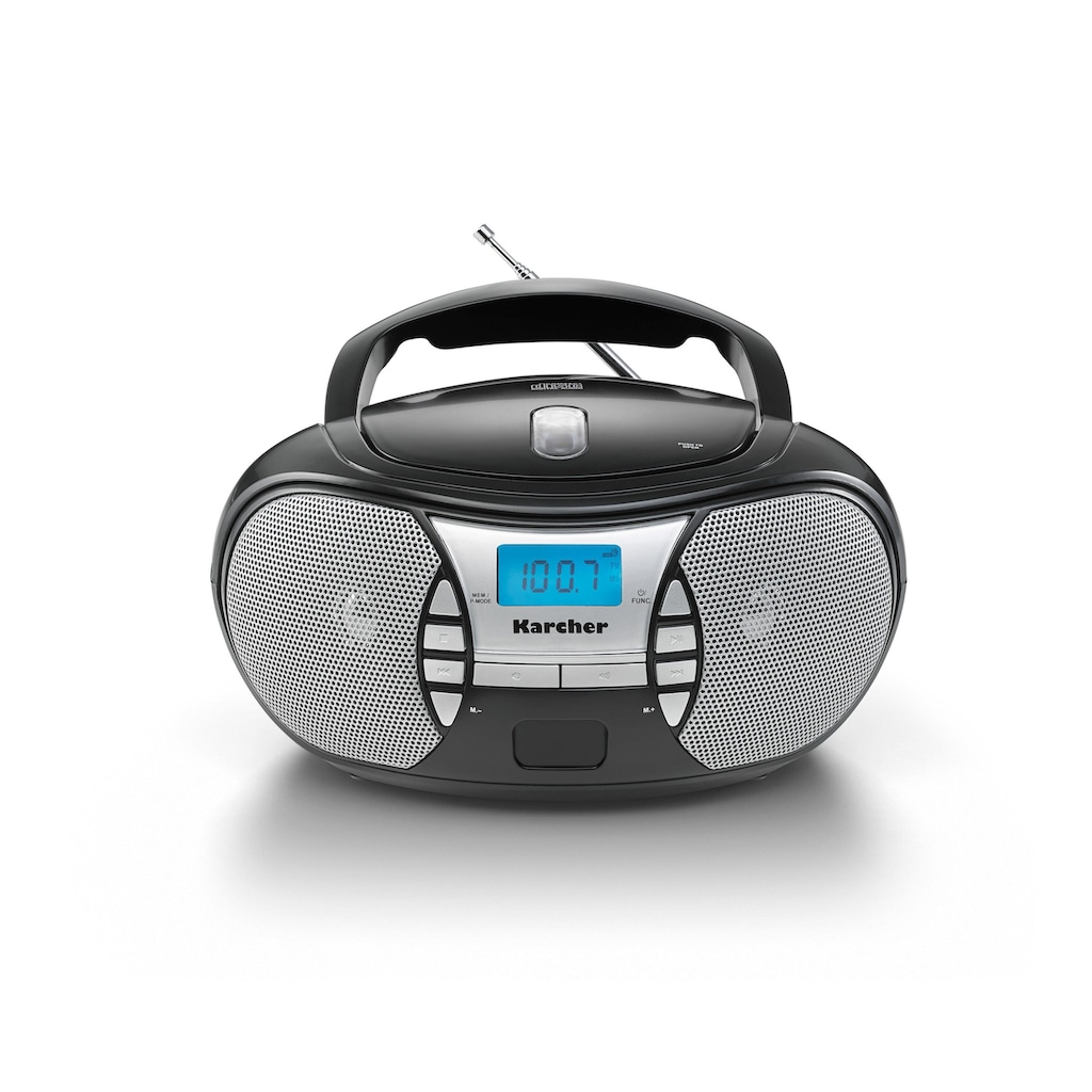 Karcher CD-Radiorecorder »RR 5025-B«, (CD 2.2 W)