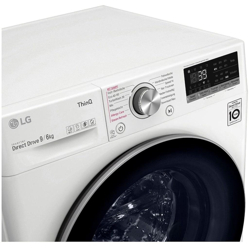 LG Waschtrockner »V7WD906A«