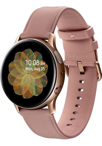 Samsung Galaxy Watch Active2 Edelstahl, 40 mm, LTE & Bluetooth (SM - R835) Smartwatch (3 cm / 1,2 Zoll) kaufen