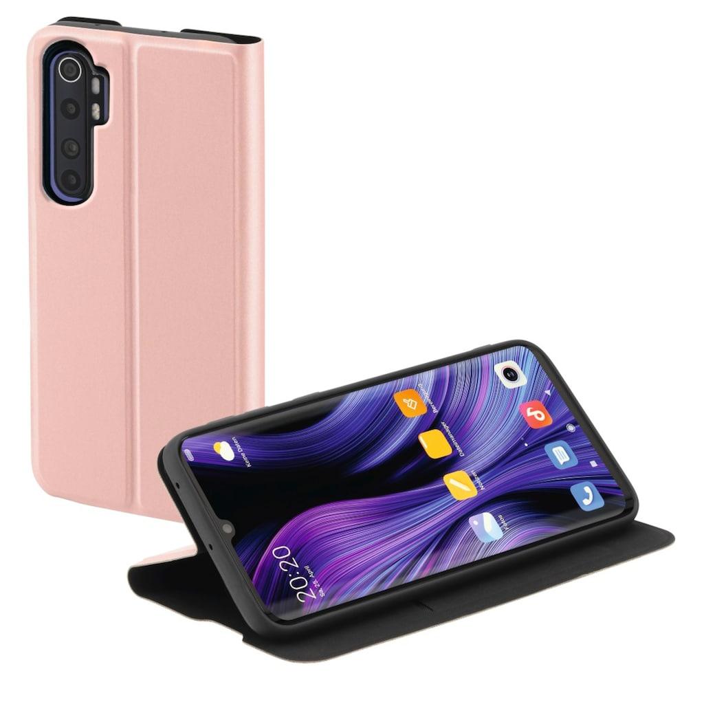 """Hama Handytasche »Smartphone-Booklet Tasche«, """"Single2.0"""" für Xiaomi Mi Note 10 Lite, Rosa"""