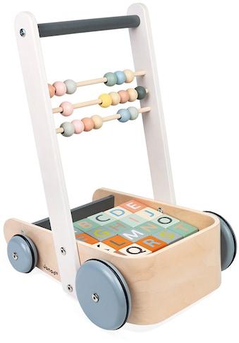 Janod Lauflernwagen »Sweet Cocoon«, mit 20 Würfeln kaufen
