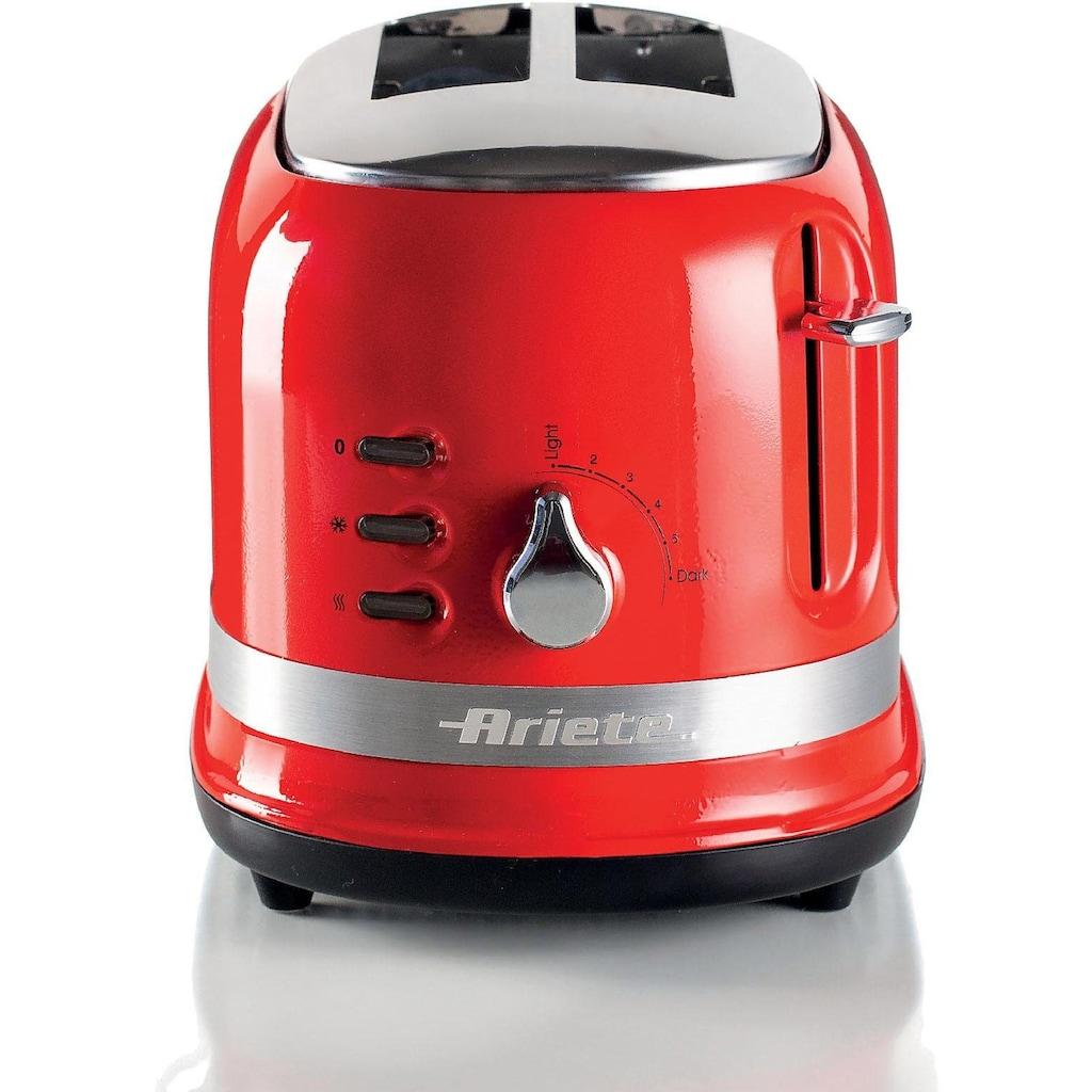 Ariete Toaster »moderna 149«, 2 kurze Schlitze, für 2 Scheiben, 815 W