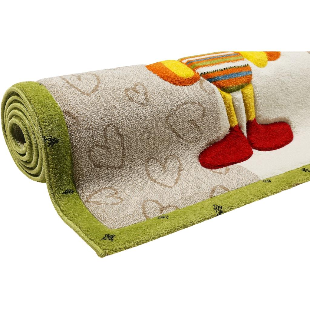 Esprit Kinderteppich »Kids Bee 2.0«, rechteckig, 13 mm Höhe, Kinder Motiv Teppich