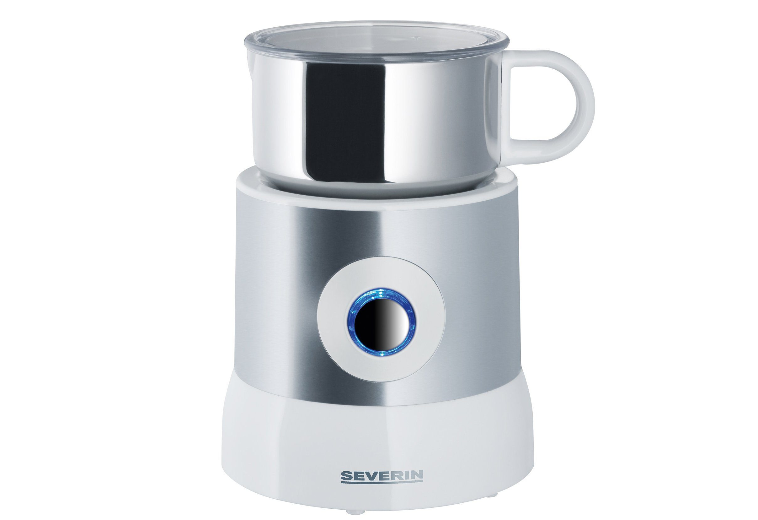 Severin Milchaufschäumer SM 9684, Induktion | Küche und Esszimmer > Kaffee und Tee > Milchaufschäumer | Silberfarben | SEVERIN