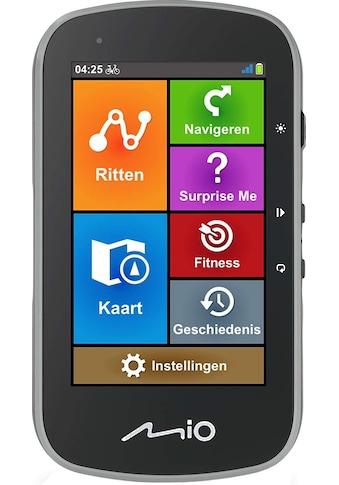 """Mio Fahrrad-Navigationsgerät »Fahrradnavigationsgerät, 10,16 cm(4"""") Bildschirm«, ( ),... kaufen"""