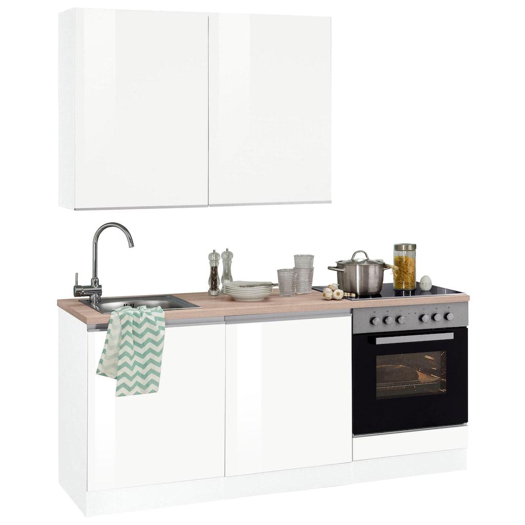 HELD MÖBEL Küchenzeile »Ohio«, ohne E-Geräte, Breite 180 cm