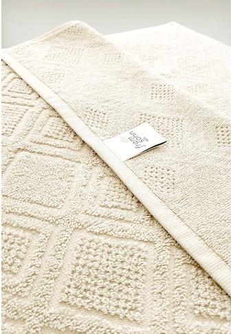 framsohn frottier Handtücher »Mosaik«, (2 St.), Hergestellt in Österreich kaufen