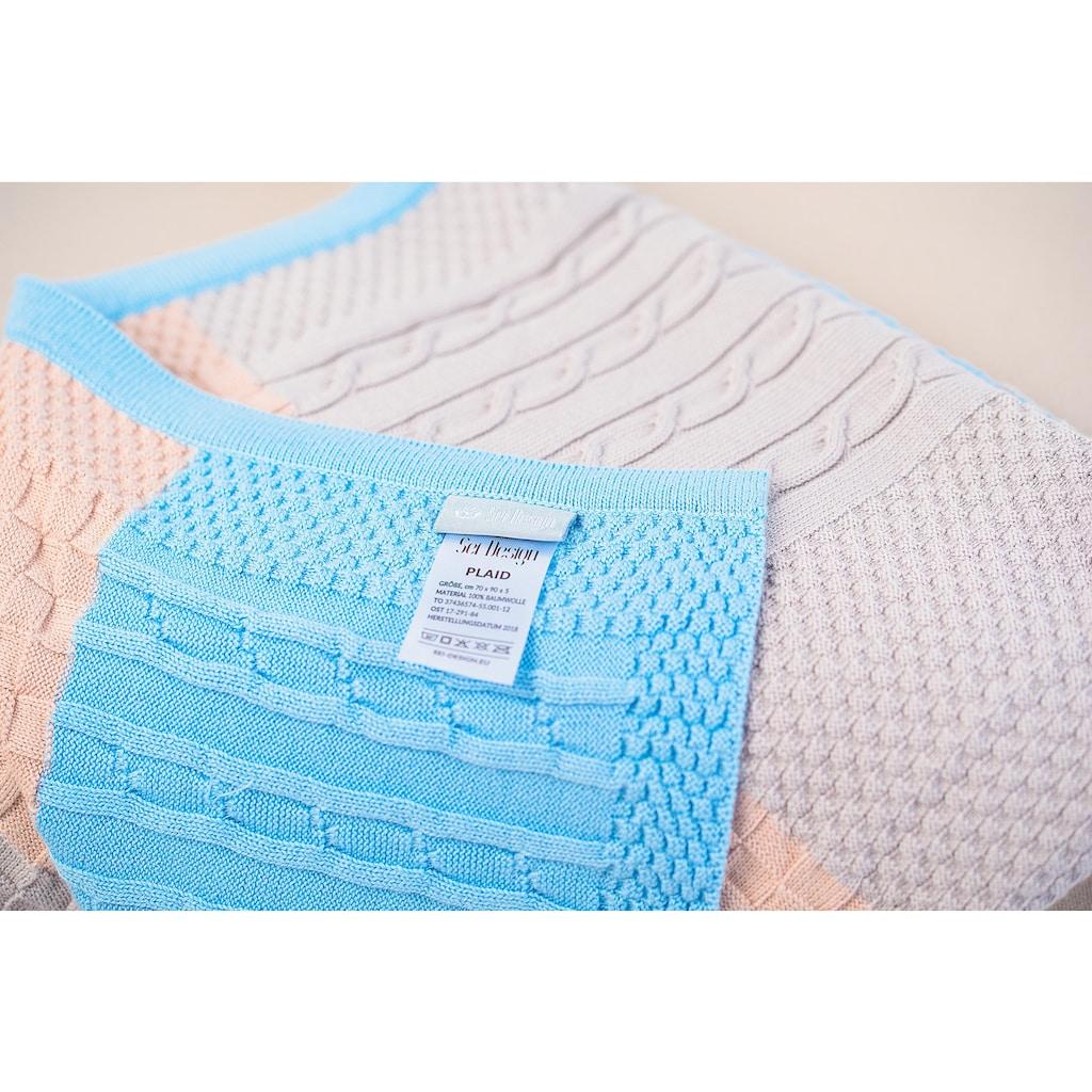 SEI Design Babydecke »Patchwork«, in Patchworkoptik