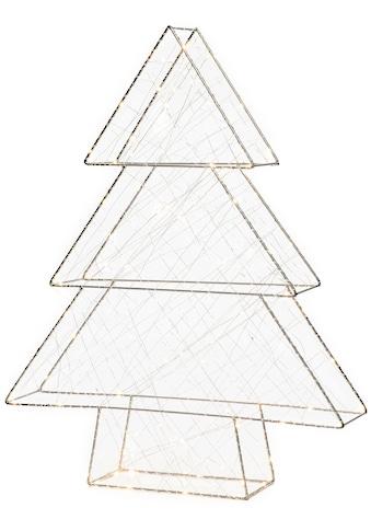 KONSTSMIDE LED Baum, LED-Modul, 1 St., Warmweiß, LED Metallweihnachtsbaum, silberfarben kaufen
