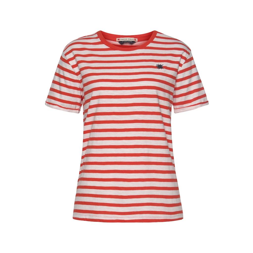 Scotch & Soda T-Shirt, mit kleiner Stickerei auf der Brust