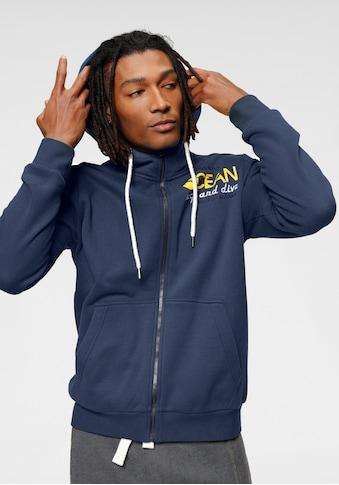 Ocean Sportswear Kapuzensweatjacke, mit Logostickerei kaufen