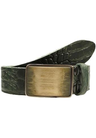 RETTUNGSRING by showroom 019° Ledergürtel, mit austauschbarer Schließe kaufen