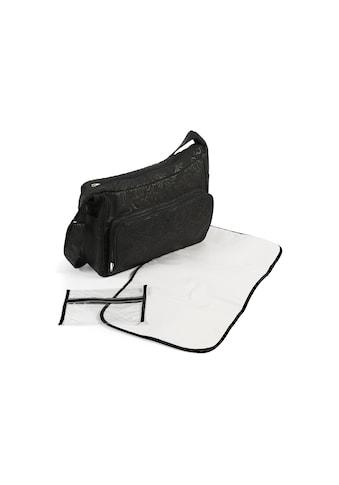 CHIC4BABY Wickeltasche »Perfetto, schwarz«, inklusive Wickelunterlage kaufen