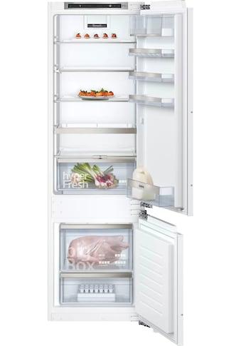 SIEMENS Einbaukühlgefrierkombination, KI87SADD0, 177,2 cm hoch, 55,8 cm breit kaufen