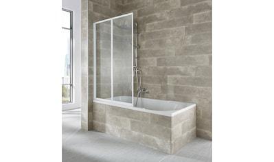 WELLTIME Badewannenaufsatz »Nassau«, 2 - tlg., weiß kaufen