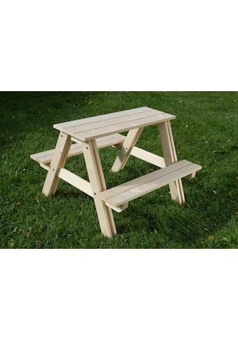 GASPO Kindersitzgruppe, Picknicktisch, BxTxH: 80x48x80 cm kaufen