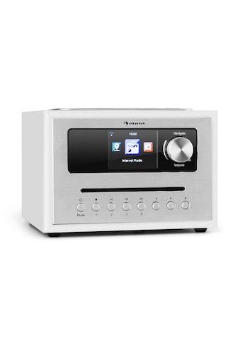 Auna CD Cube Radio Bluetooth HCC Display weiß »Silver Star« kaufen