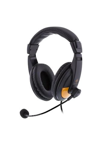 DELTACO Headset Kopfhöhrer Gamer Spieler Stereo Mikrofon »Stereo - Gaming - Headset« kaufen