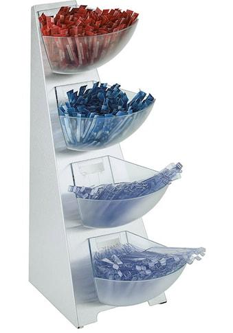 APS Küchenregal, Edelstahl/Kunststoff, Inhalt Schütten 1 Liter kaufen
