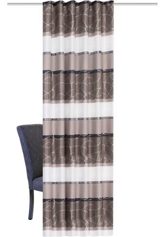 HOME WOHNIDEEN Vorhang »ALONDRA«, HxB: 245x140, mit Wellenband kaufen