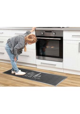 Primaflor-Ideen in Textil Küchenläufer »HEART OF THE KITCHEN«, rechteckig, 6,5 mm... kaufen