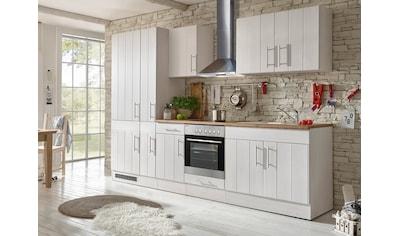 RESPEKTA Küchenzeile »Ulm«, mit E-Geräten, Breite 300 cm kaufen