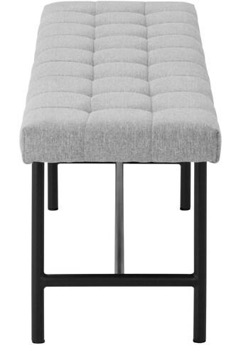 andas Sitzbank »Senta«, mit schönem Webstoff Bezug und einem Metallbeingestell, Breite... kaufen