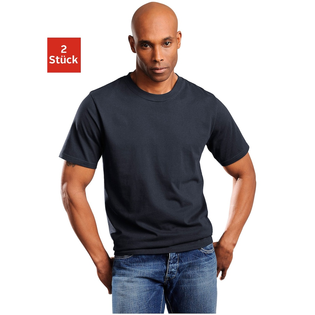 Schiesser T-Shirt, schlichte Basic-Shirts in Top-Markenqualität