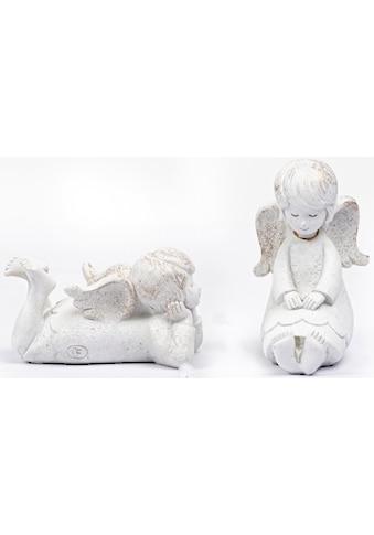 Fabriano Engelfigur »Elisa« (Set, 2 Stück, 1x sitzend und 1x liegend) kaufen