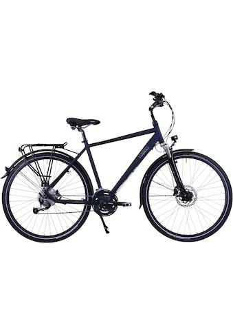 HAWK Bikes Trekkingrad »HAWK Trekking Gent Deluxe Ocean Blue«, 27 Gang, Shimano,... kaufen