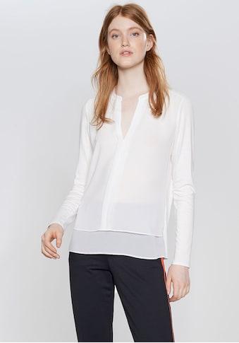 OPUS Klassische Bluse »Fogat«, im Lagen-Look kaufen