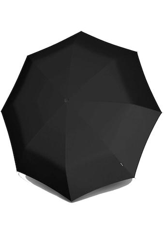 Knirps® Taschenregenschirm »T.200 Medium Duomatic, Black« kaufen