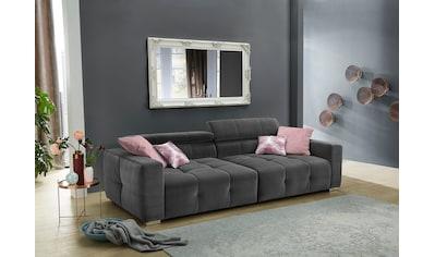 Jockenhöfer Gruppe Big-Sofa, mit Wellenfederung für einen angenehmen Sitzkomfort und... kaufen