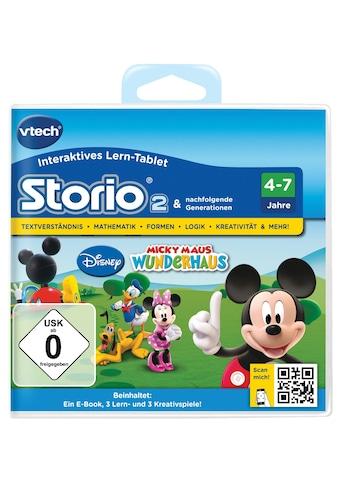 Spiel »Storio 2, Disney Micky Maus Wunderhaus« vtech kaufen