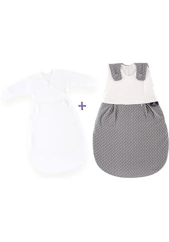 Träumeland Babyschlafsack »Set Pünktchen grau«, (Packung, 3 tlg., 3er-Pack) kaufen