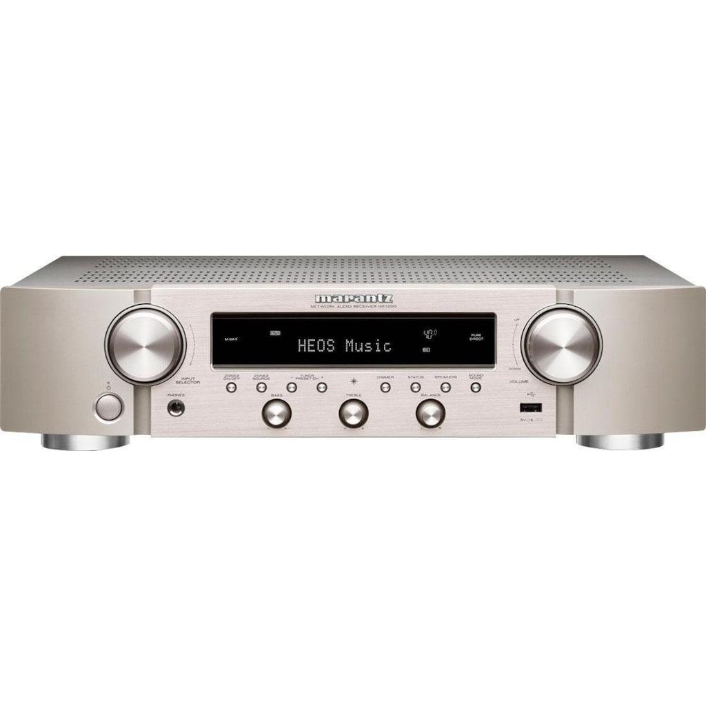 Marantz Stereo-Netzwerk-Receiver »NR1200«, 2, (Bluetooth-WLAN DAB+-FM-Tuner-Internetradio-Sprachsteuerung)