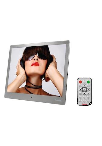 Hama Digitaler Bilderrahmen Musik und Video, 24,64cm (9,7 Zoll) »4 GB int. Speicher USB HDMI SD« kaufen